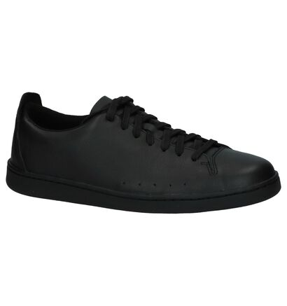 Lage Geklede Sneakers Zwart Clarks Nathan Lace, Zwart, pdp