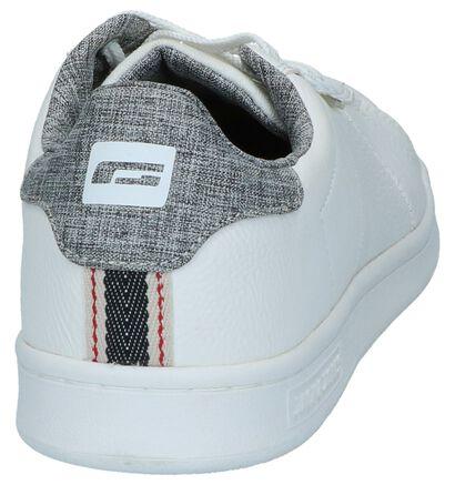 Zwarte Sneakers Jack & Jonges Bane Pu, Wit, pdp