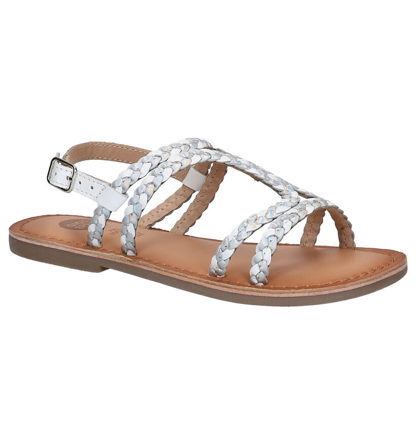 Gioseppo Witte Sandalen in leer (270847)