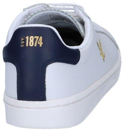 Lyle & Scott Chaussures basses en Blanc en cuir (240731)