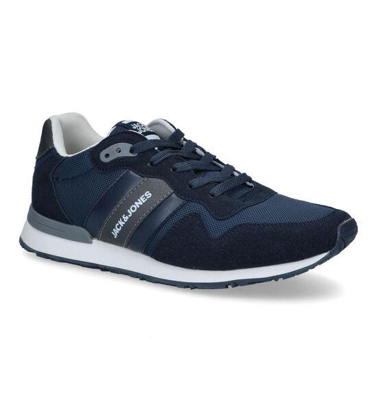 Jack & Jones Stellar Mesh 2.0 Blauwe Sneakers