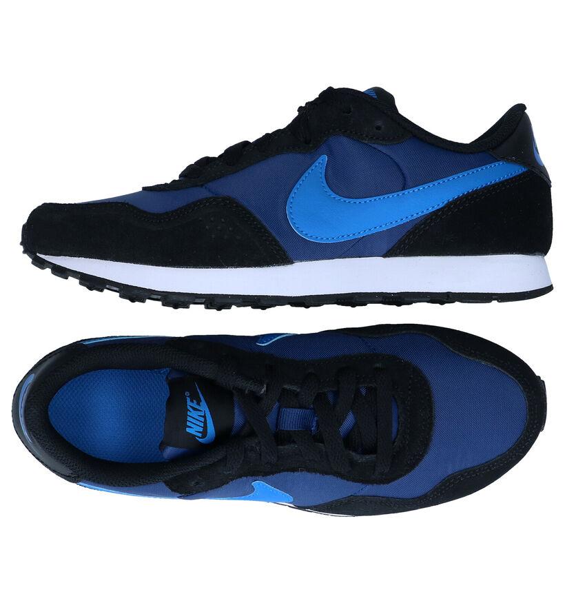 Nike MD Valiant GS Blauwe Sneakers in stof (284490)