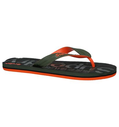 Kaki Teenslippers Superdry Scuba in kunststof (245326)