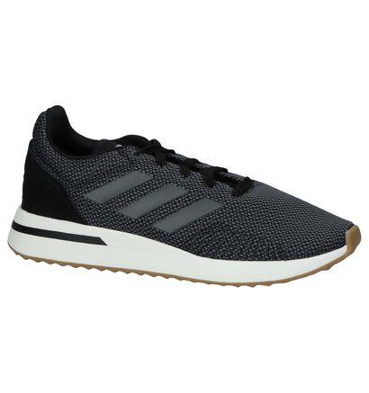 adidas Run 70S Baskets en Noir en textile (221613)