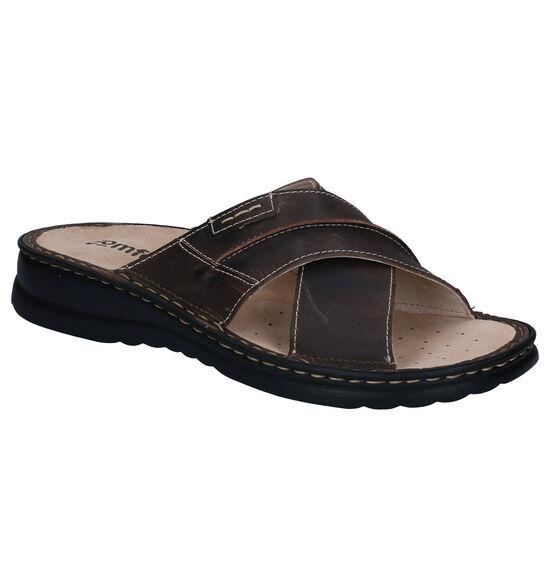 Comfort Plus Bruine Slippers