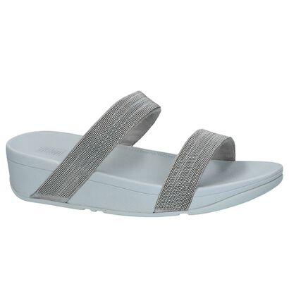 FitFlop Nu-pieds à talons  (Noir), Argent, pdp