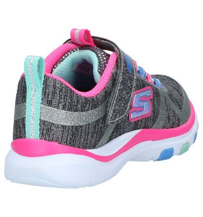 Skechers Grijze Sneakers in stof (263412)