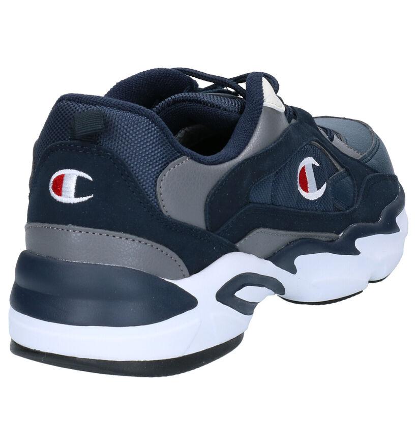 Champion Tampa Blauwe Sneakers in stof (253539)