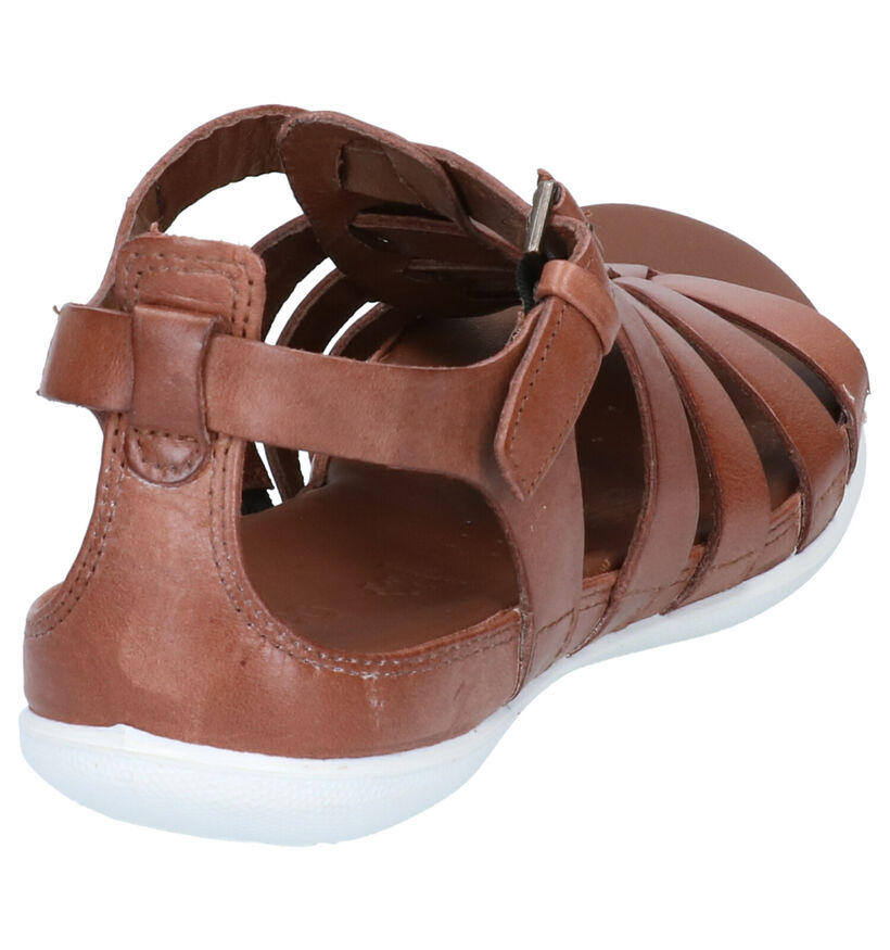 Ecco Flash Zwarte Sandalen in leer (269692)