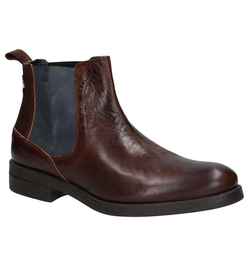 Olivier Strelli Julius Bruine Boots in leer (261416)