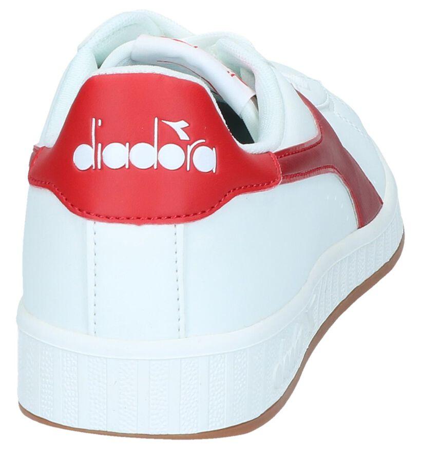 Diadora Game P Gem Baskets en Blanc en simili cuir (267972)
