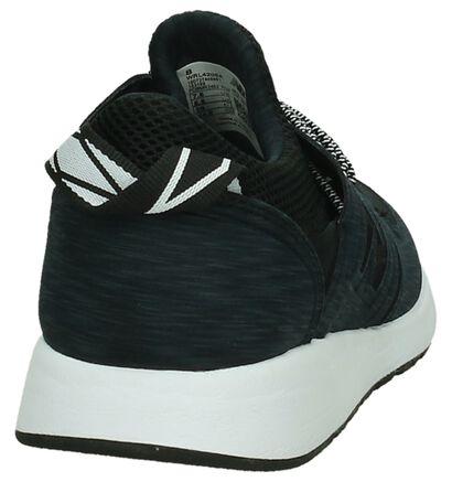 New Balance WRL420 Zwarte Sneaker Runner in stof (197718)