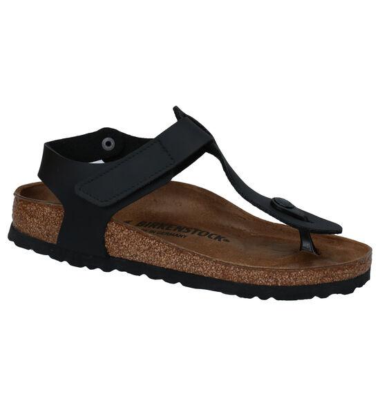 Birkenstock Kairo zwarte Sandalen