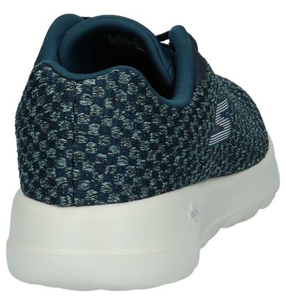 Donker Blauwe Sneakers Skechers Go Walk Joy in stof (224268)