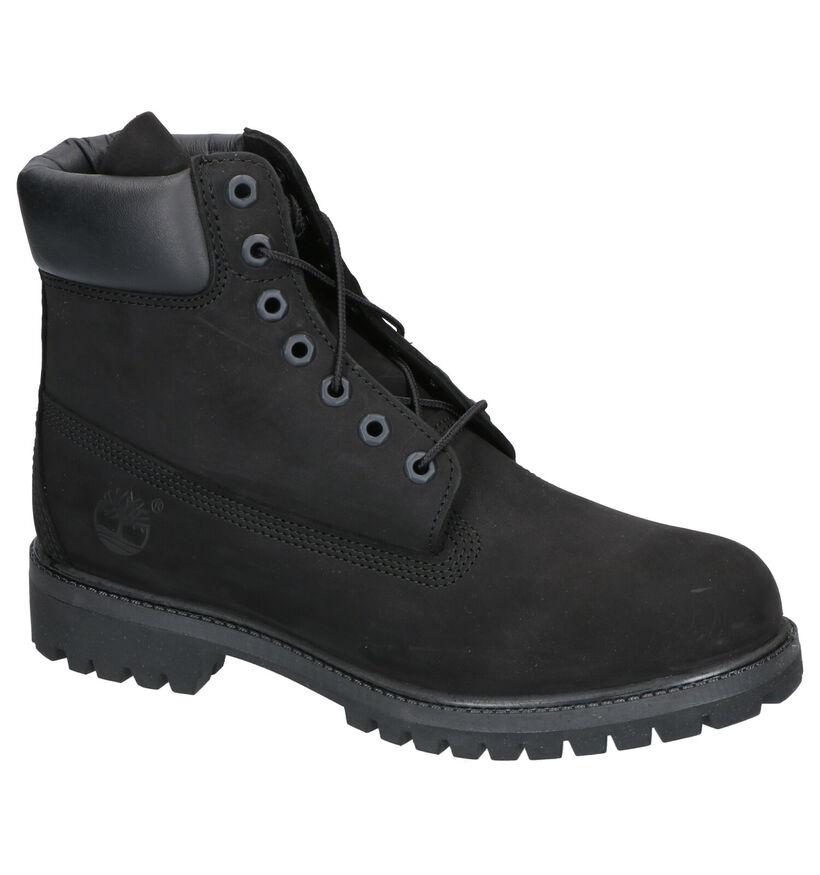 Timberland 6 Inch Premium Boots Zwart in nubuck (255315)