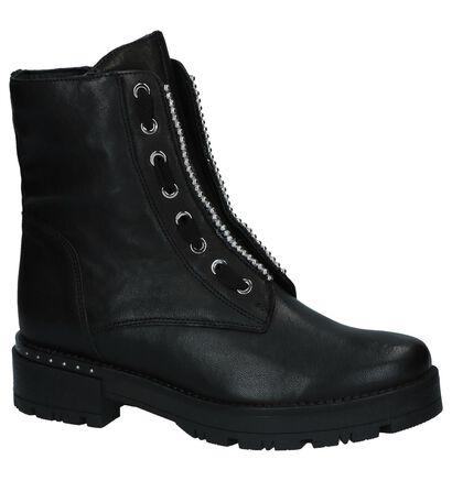 Via Limone Zwarte Boots, Zwart, pdp