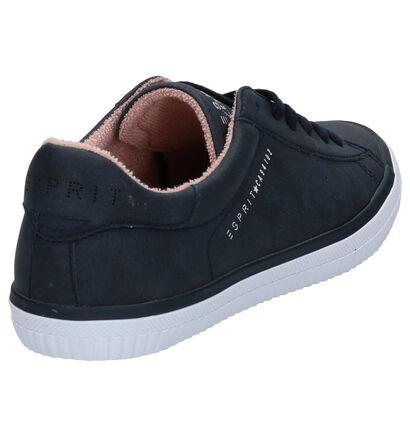 Esprit Chaussures à lacets en Bleu foncé en simili cuir (276792)