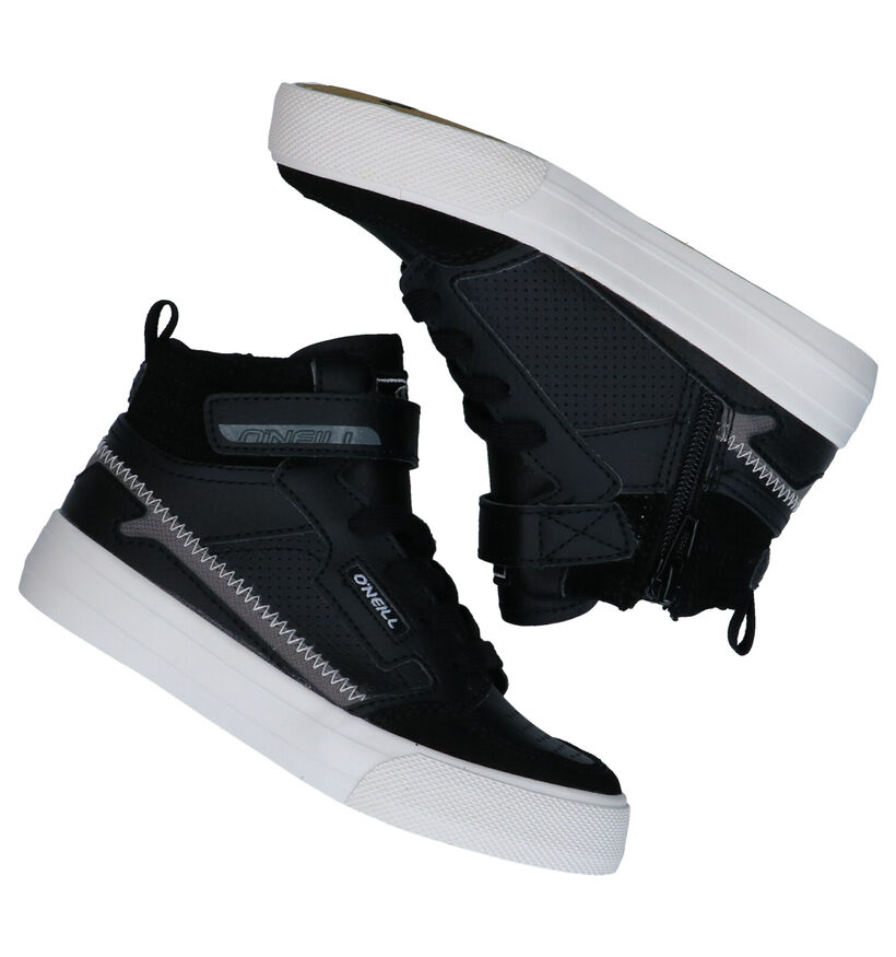 O'Neill Trestless High JR Baskets en Noir en cuir (279674)