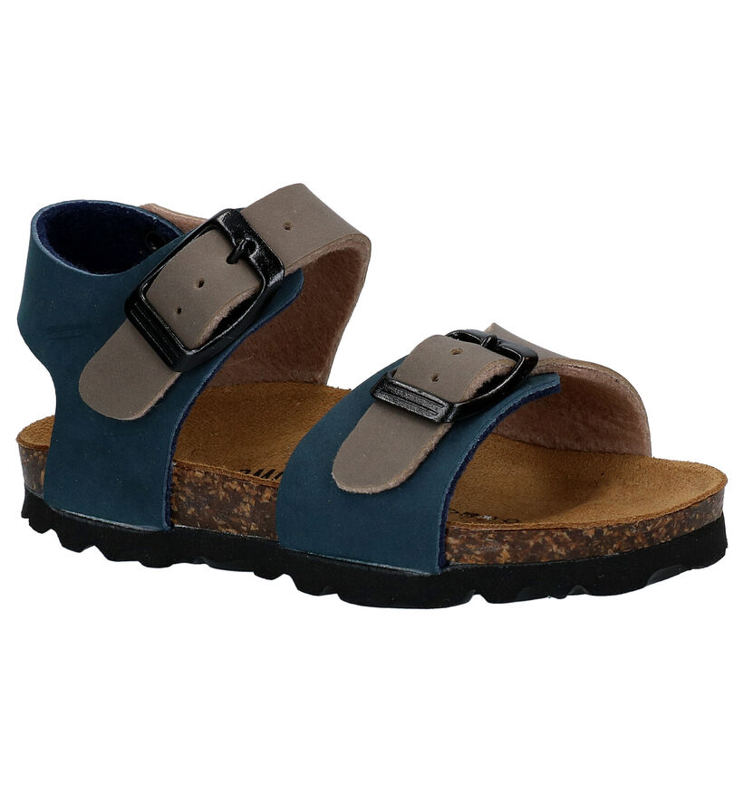 Biomodex Sandales en Bleu en simili cuir (241457)
