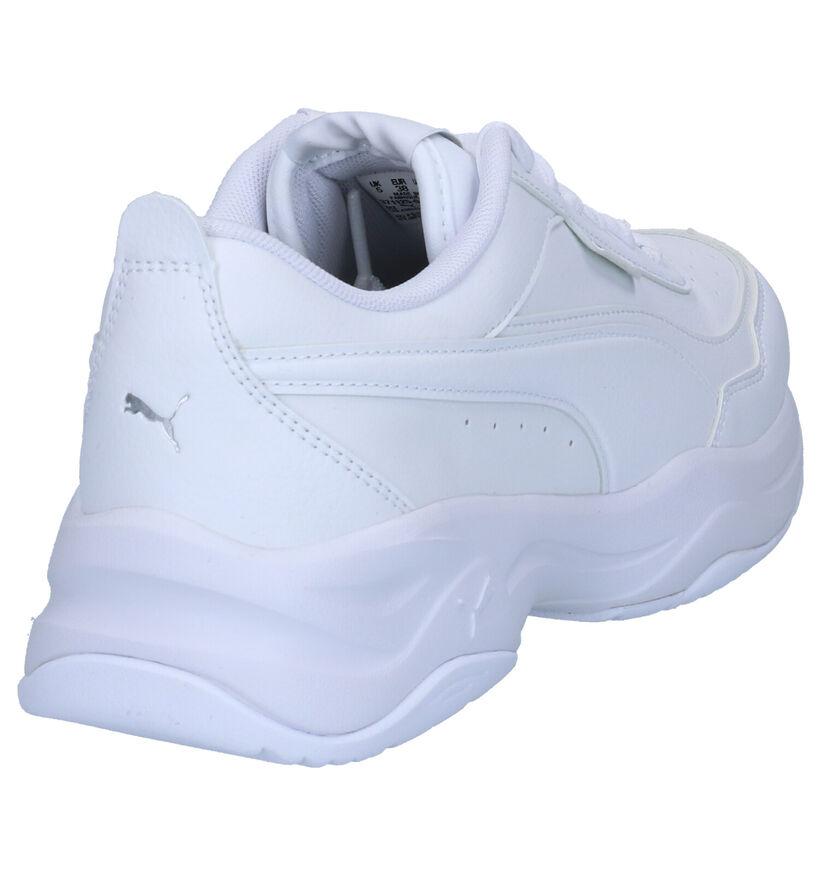 Puma Cilia Mode Sneakers en Blanc en simili cuir (265519)
