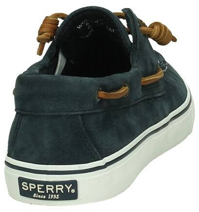 Donkerblauwe Bootschoenen Sperry Bahama, Blauw, pdp