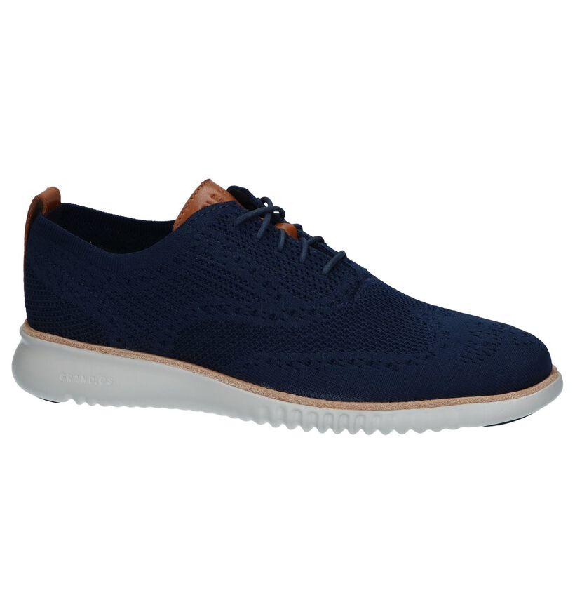 Cole Haan Chaussures basses en Bleu foncé en textile (240727)