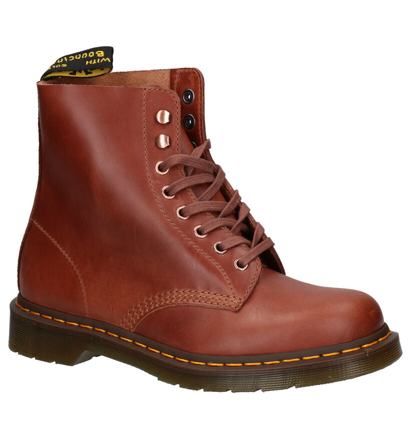 Dr. Martens 1460 Pascal Bruine Boots in leer (253435)