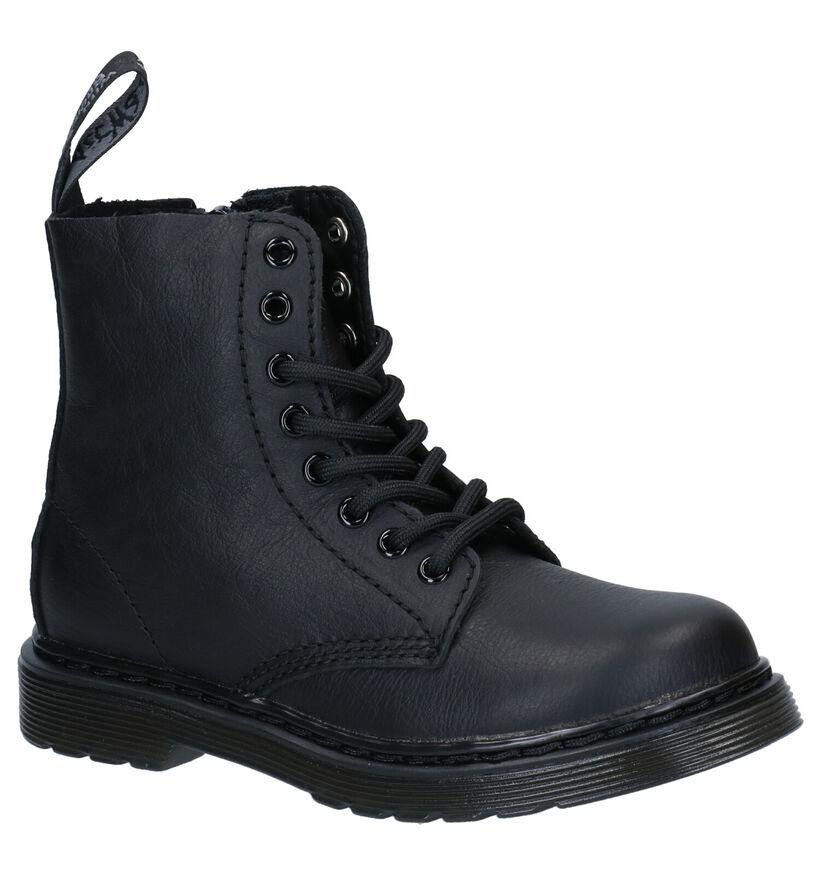 Dr. Martens 1460 J Pascal Zwarte Boots in leer (277276)