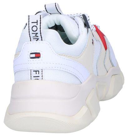 Tommy Hilfiger Baskets basses en Blanc en imitation cuir (241733)