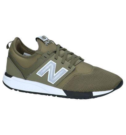 Kaki Sneakers Runner New Balance MRL 247 in stof (238269)