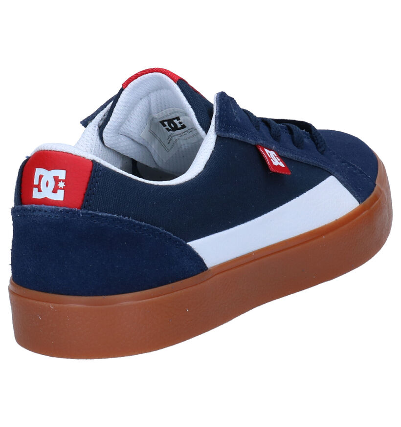 DC Shoes Baskets de skate en Multicolore en daim (250809)