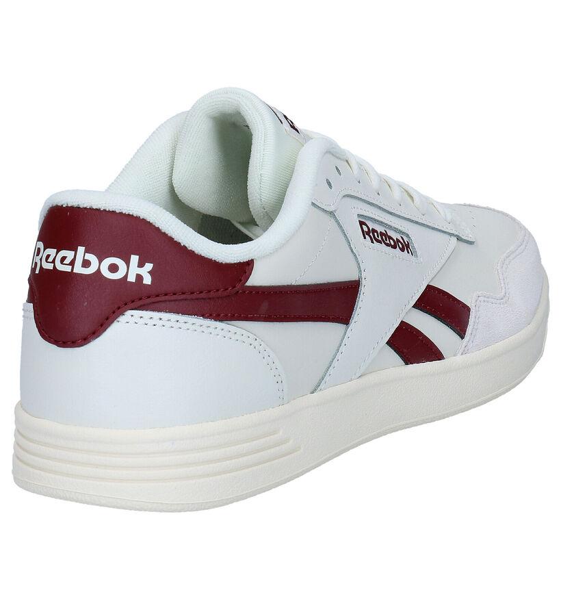 Reebok Royal Techqu Baskets en Blanc en simili cuir (293478)