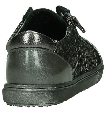 Bopy Chaussures basses en Gris en cuir verni (181888)