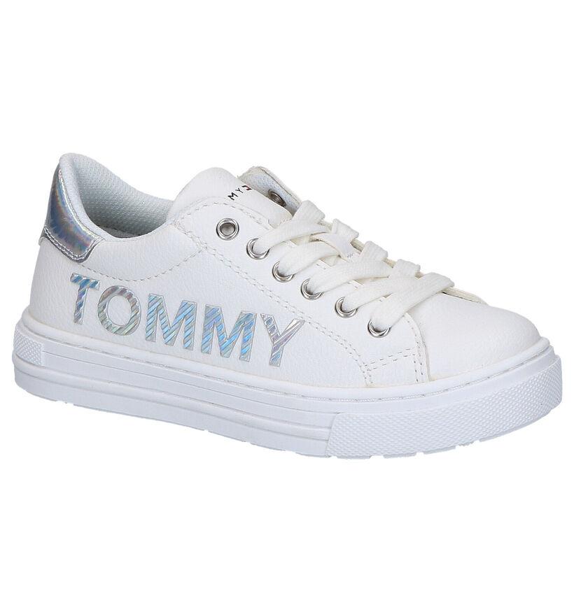 Tommy Hilfiger Witte Schoenen in kunstleer (266564)