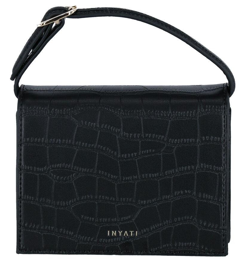 Inyati Ivy Vegan Zwarte Crossbody Tas in kunstleer (284060)