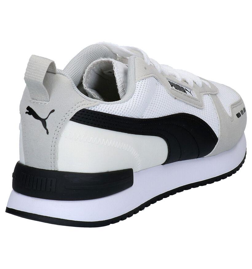 Puma Baskets basses en Blanc en simili cuir (273318)