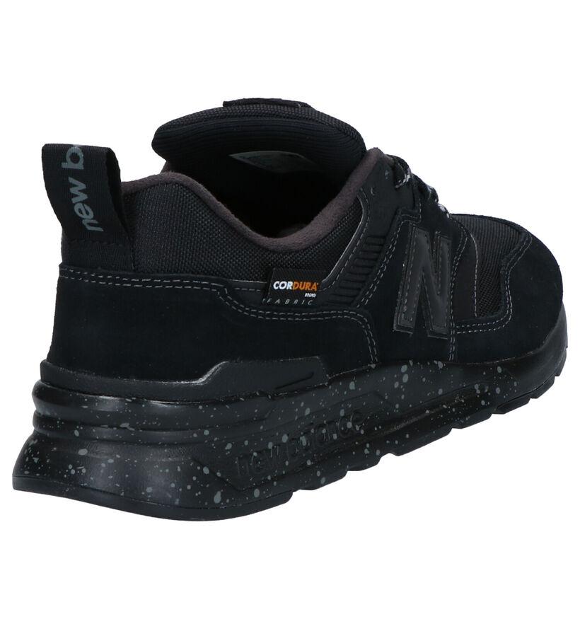 New Balance 997 Sneakers Zwart in daim (261535)