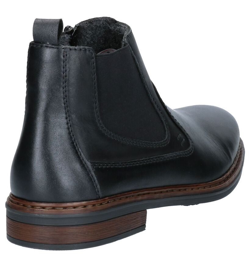 Rieker Chaussures hautes en Cognac en cuir (281735)