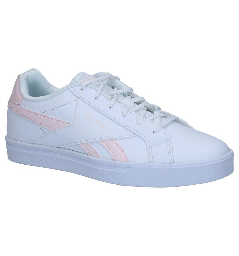 Reebok Royal Comple Witte Sneakers in kunstleer (276442)