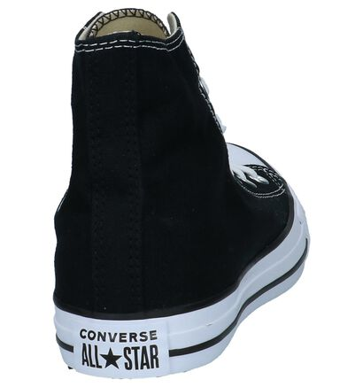 Converse All Star High Sneakers Zwart in stof (266500)