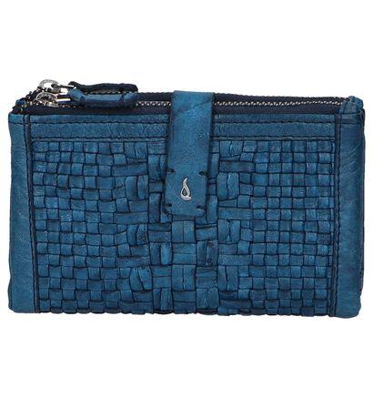 Blauwe Overslagportemonnee Abbacino Massanella , Blauw, pdp