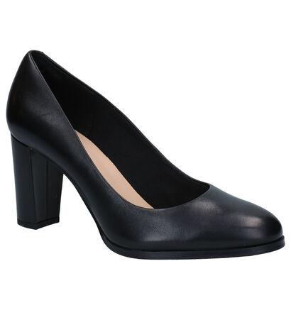 Clarks Kaylin Cara Escarpins en Noir en cuir (265509)