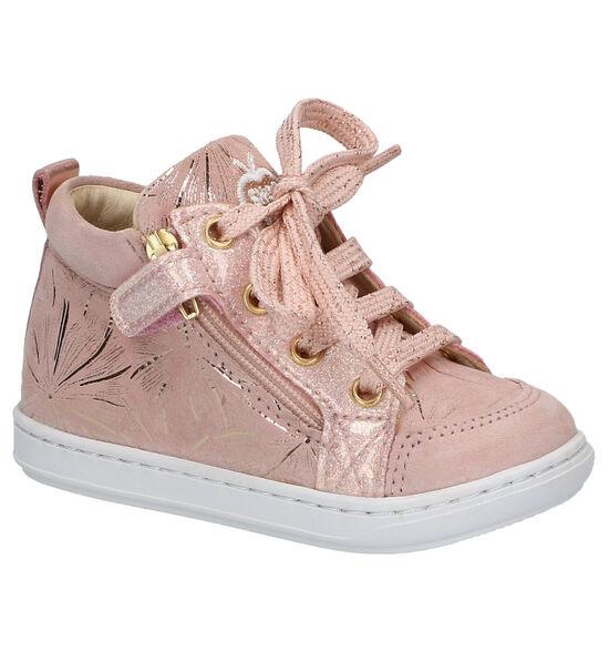 Shoo Pom Bouba Bi Zip Chaussures en Rose
