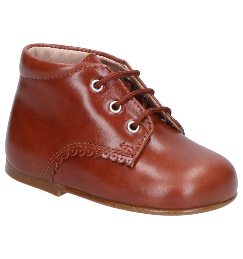 Eli Chaussures pour bébé  en Cognac en cuir (260861)