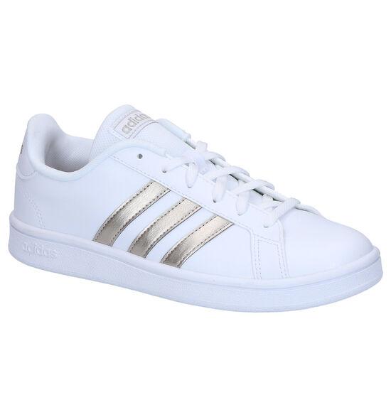 adidas Grand Court Sneakers en Blanc
