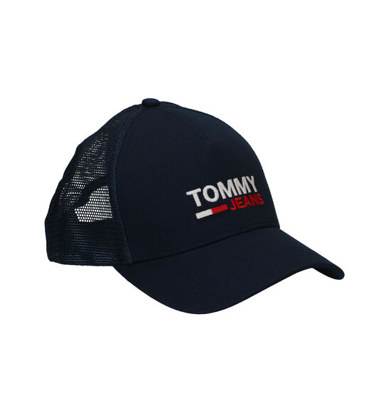 Tommy Hilfiger Flag Trucker Blauwe Pet