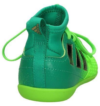 Blauw/Zwarte Sportschoenen adidas Ace, Groen, pdp
