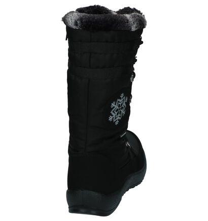 Zwarte Sneeuwlaarzen Skandia in stof (223801)