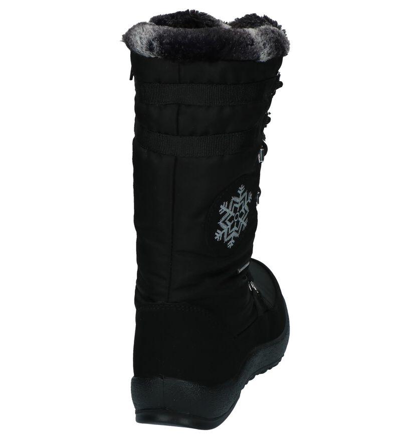 Skandia Bottes de neige en Noir en synthétique (200826)