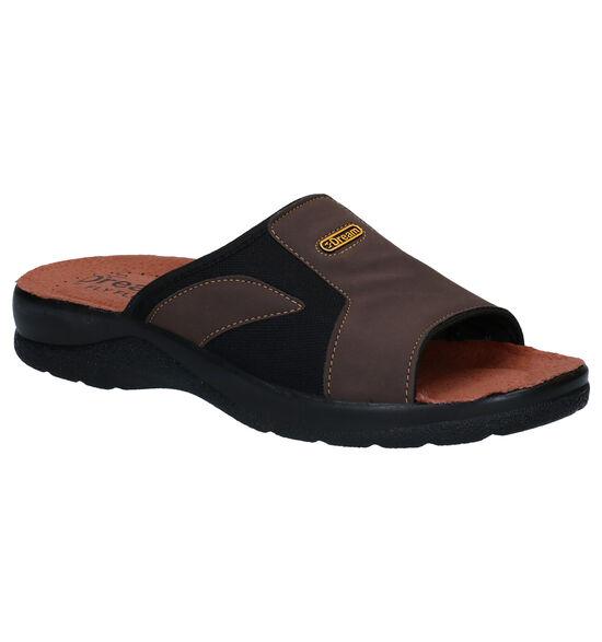 Fly Flot Bruine Slippers